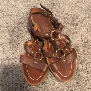 CHARLES By Charles David Leather Sandals
